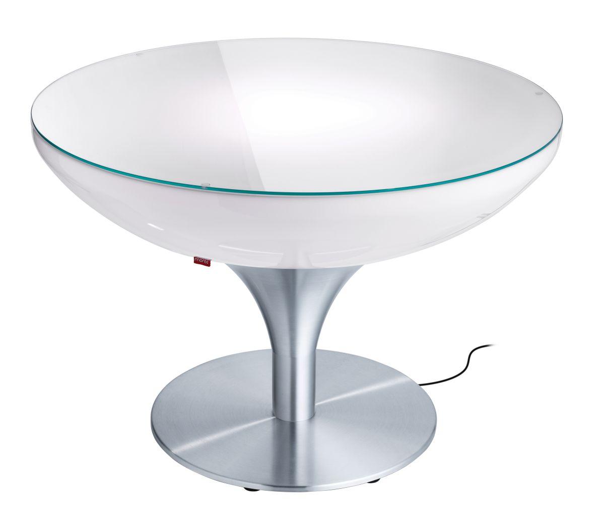 Image moree lounge 55 led pro verlichte bijzettafel for Professional home design 7 0