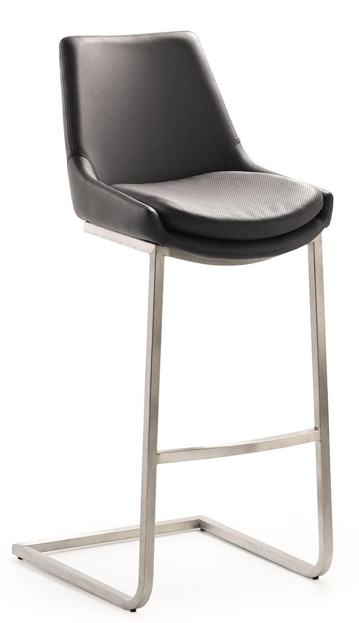 barkruk zwart staal kopen online internetwinkel. Black Bedroom Furniture Sets. Home Design Ideas