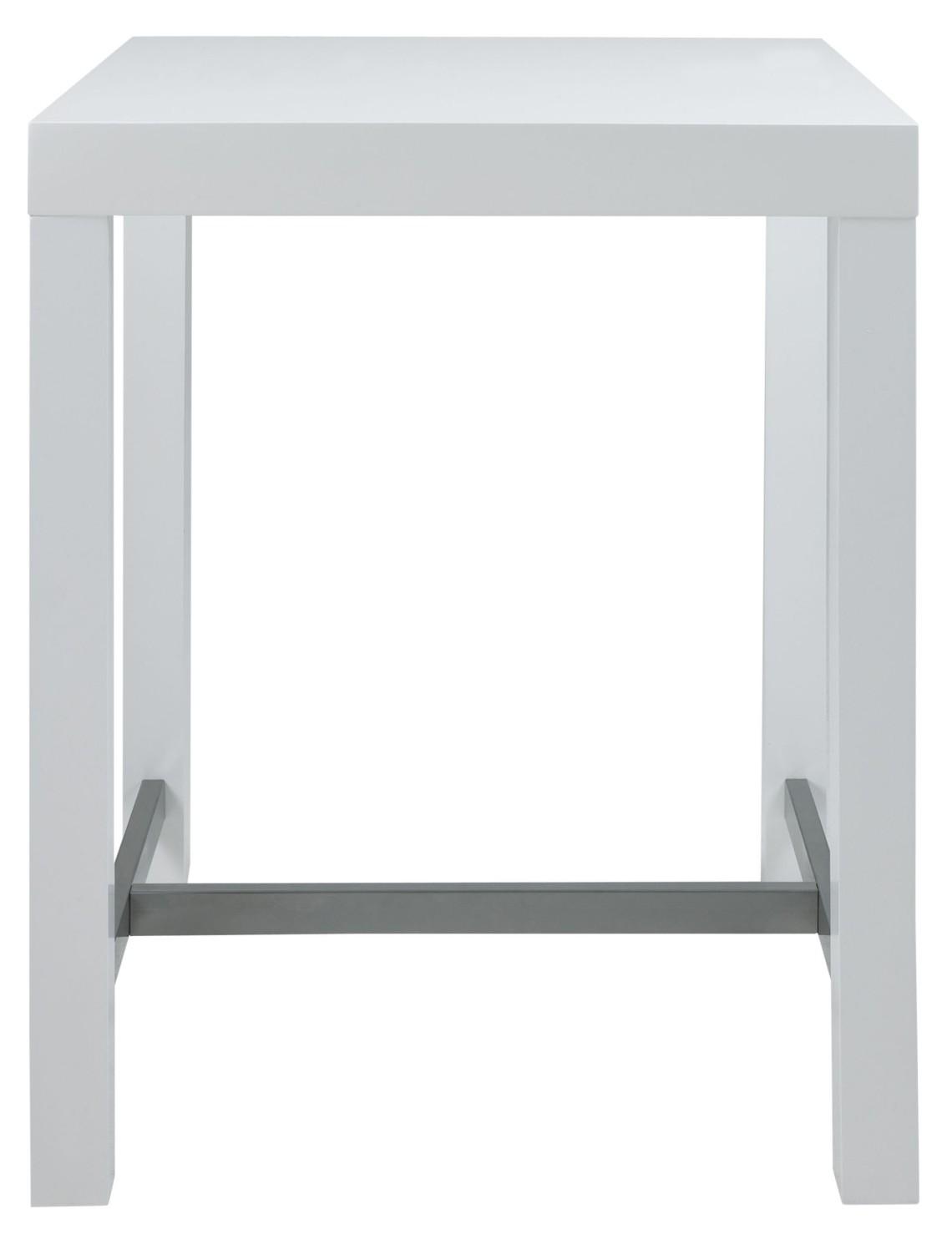 Bartafel Keuken Kopen : 24designs Tafel High Gloss – L240 X B110 X H76.5 CM – Wit Tafelblad
