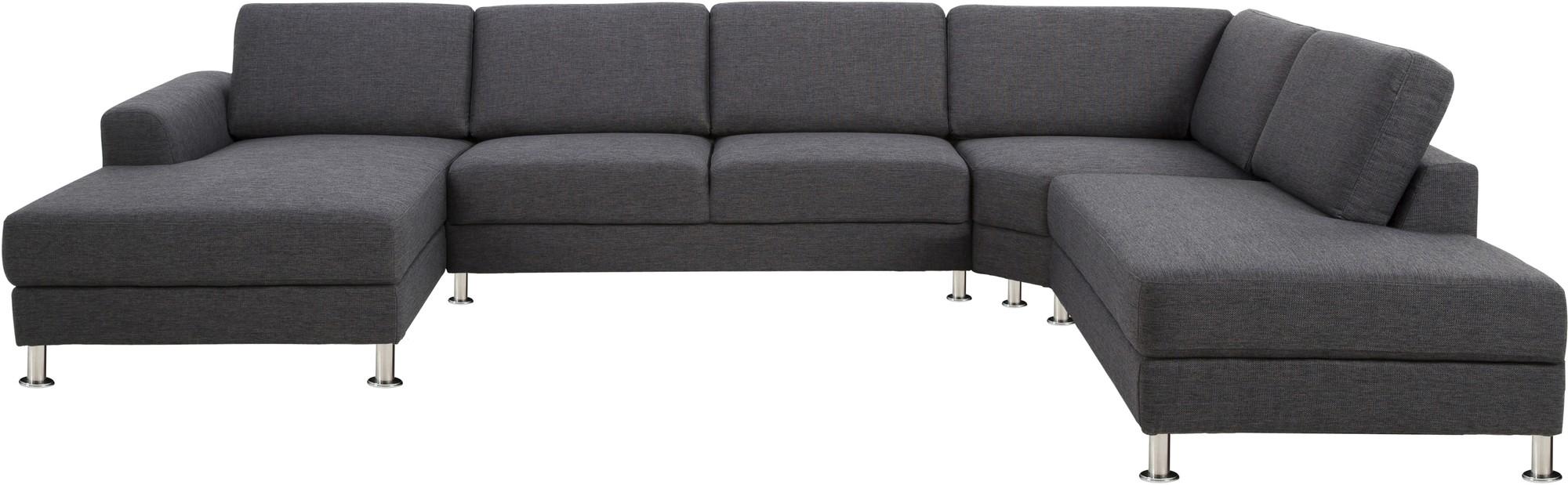 Grote grijze hoekbank grijze hoekbank ideas for interior livingroom link living room grote - Lounge design grijs ...