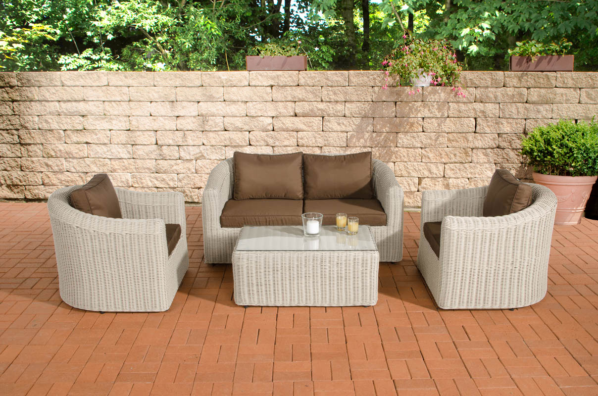bruine loungeset kopen online internetwinkel. Black Bedroom Furniture Sets. Home Design Ideas