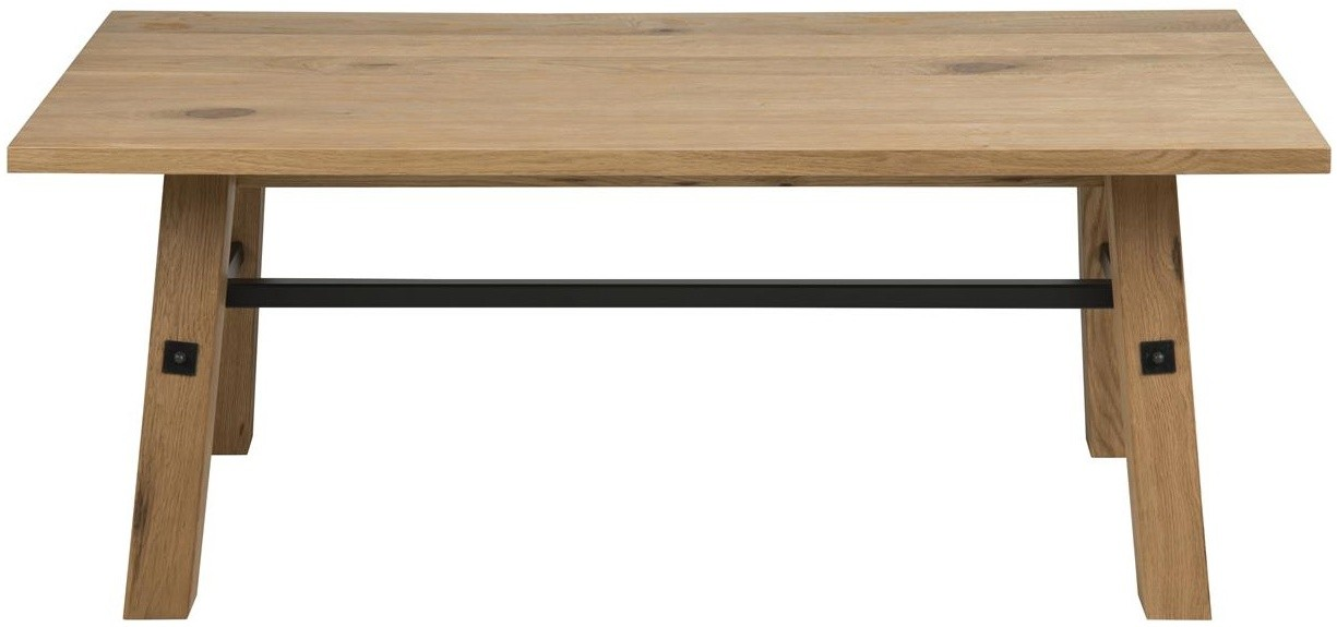 24designs Salontafel Kopenhagen L117 X B58 X H46 Cm Eiken kopen