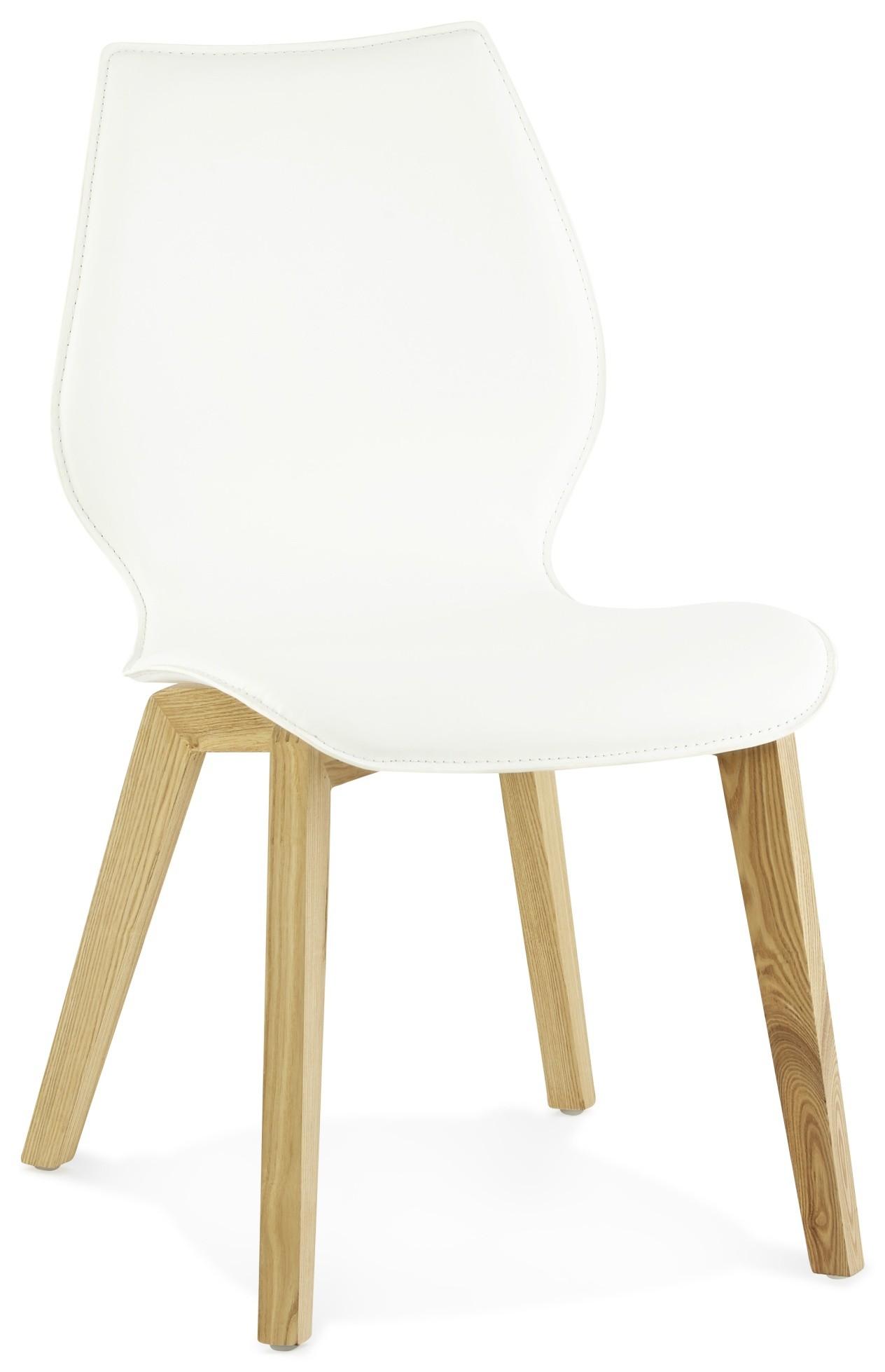 Industriele stoel met houten zitting wit tbls in de for Design stoel 24