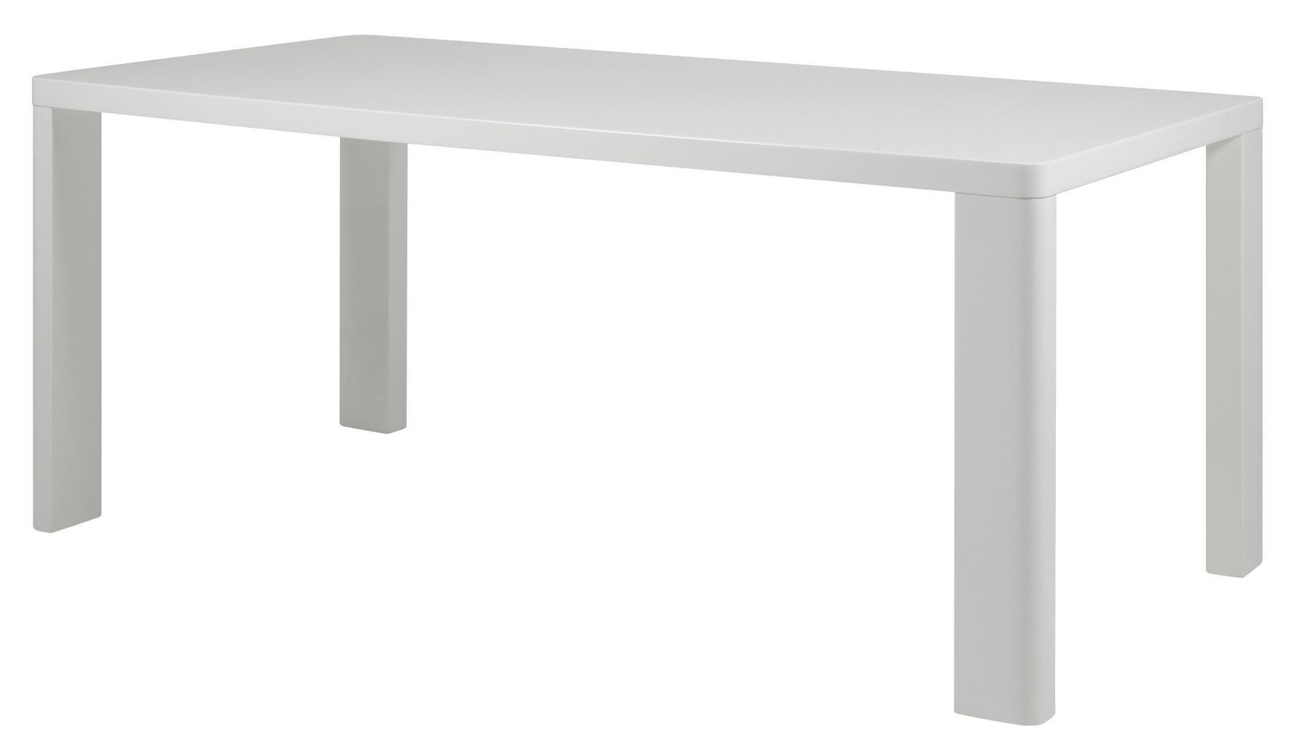 ... 90 cm wit hoogglans 24designs tafel asta 160 x 90 cm wit hoogglans
