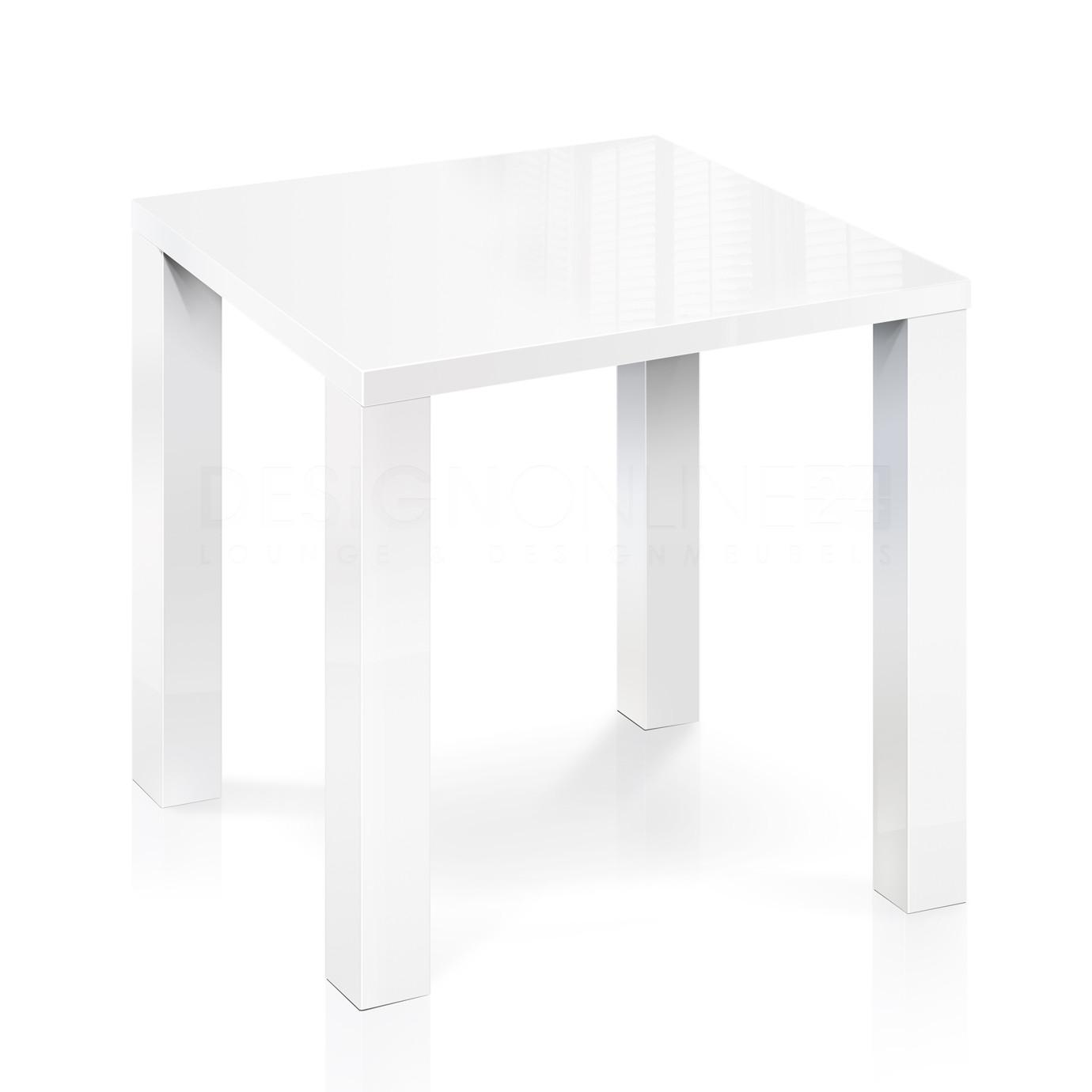 Hoogglans Keuken Krassen : 24designs Bartafel High Gloss L100 X B100 X H92 Cm Wit Tafelblad Witte