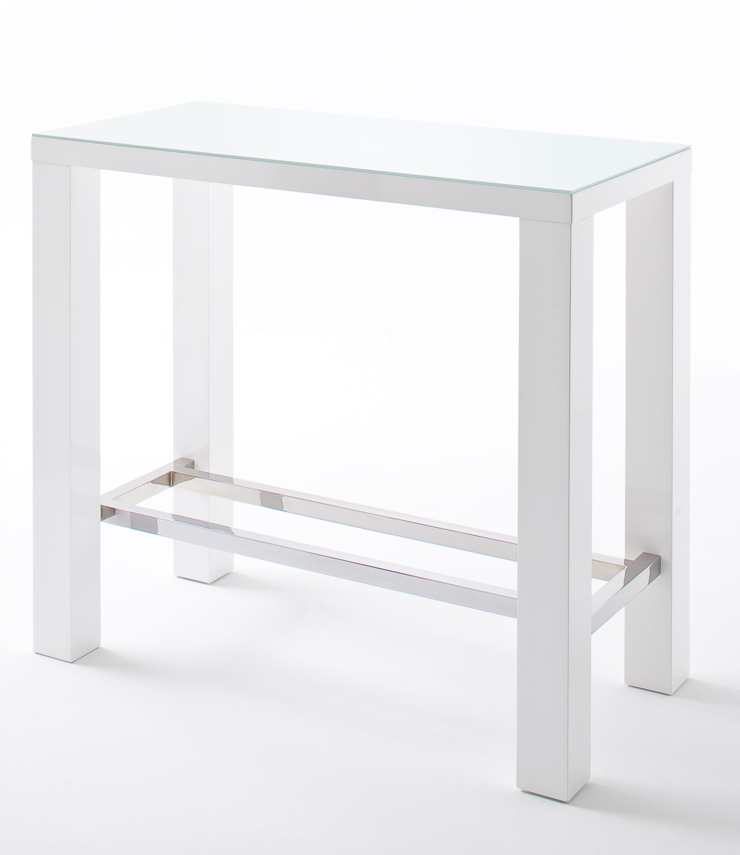 Bartafel Keuken Ikea : 24Designs Bartafel Queen Glass – 120 x 60 x 107 cm – Wit – www