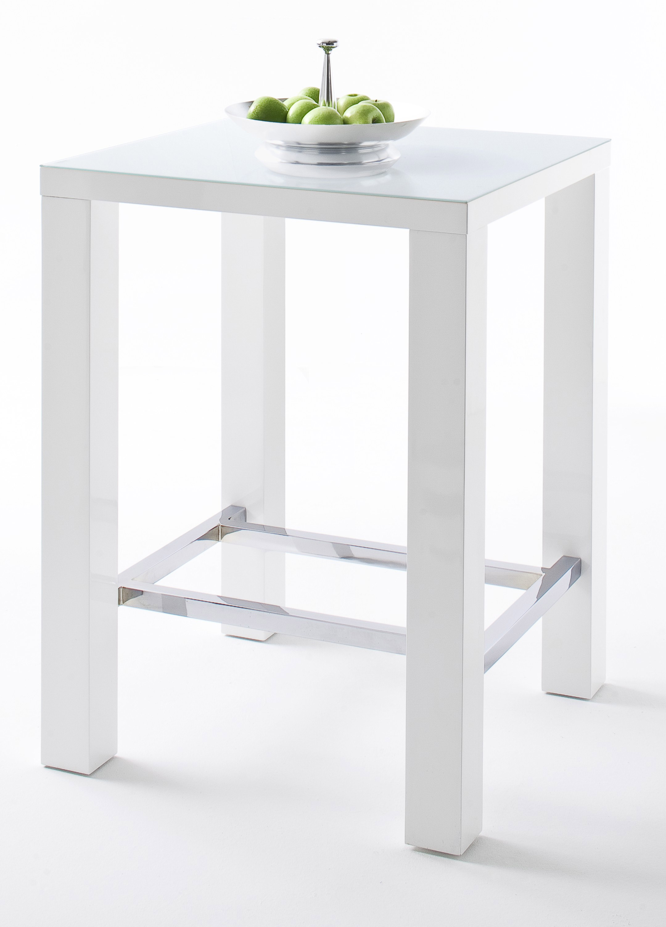 Bartafel Keuken Kopen : 24designs Bartafel Queen Glass L120 X B60 X H107 Cm Hoogglans Wit in