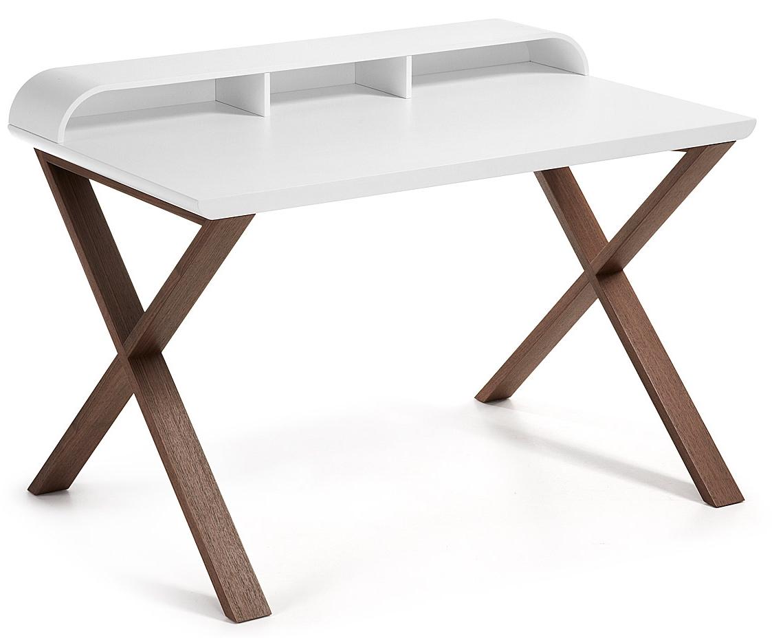 bergen bureau laforma wit in de aanbieding kopen. Black Bedroom Furniture Sets. Home Design Ideas