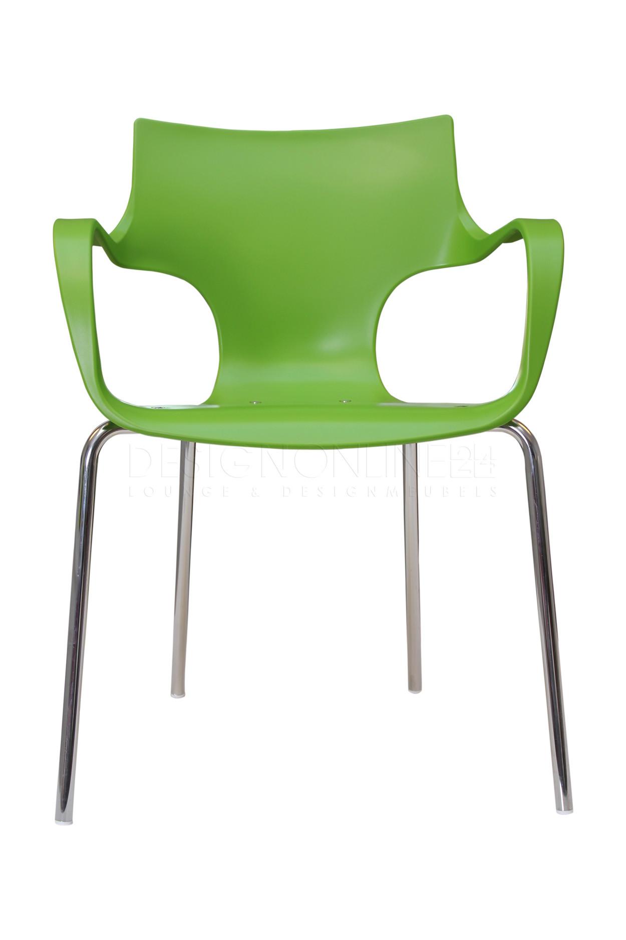 24designs set 4 stoelen orbit wit in de aanbieding kopen for Design stoel 24