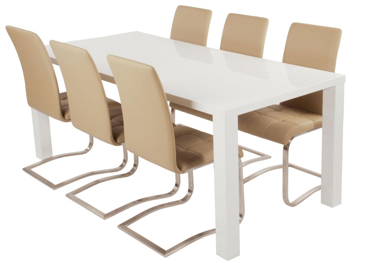 Uitschuifbare tafel met stoelen witte tafels marktplaats eiken tafels in diverse modellen van - Tafel eetkamer hout wit ...