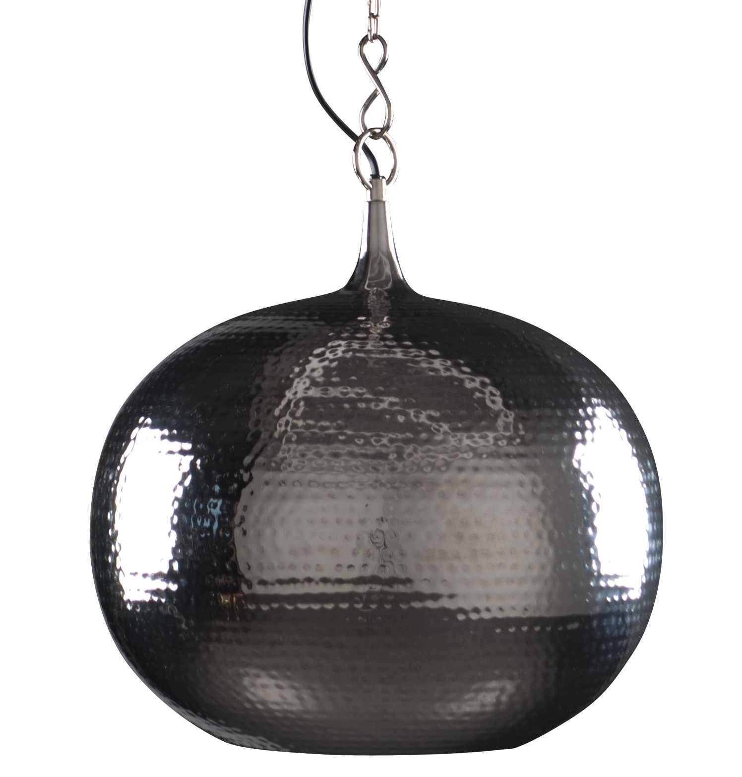 Zuiver Hanglamp Hammered Round - Nickel