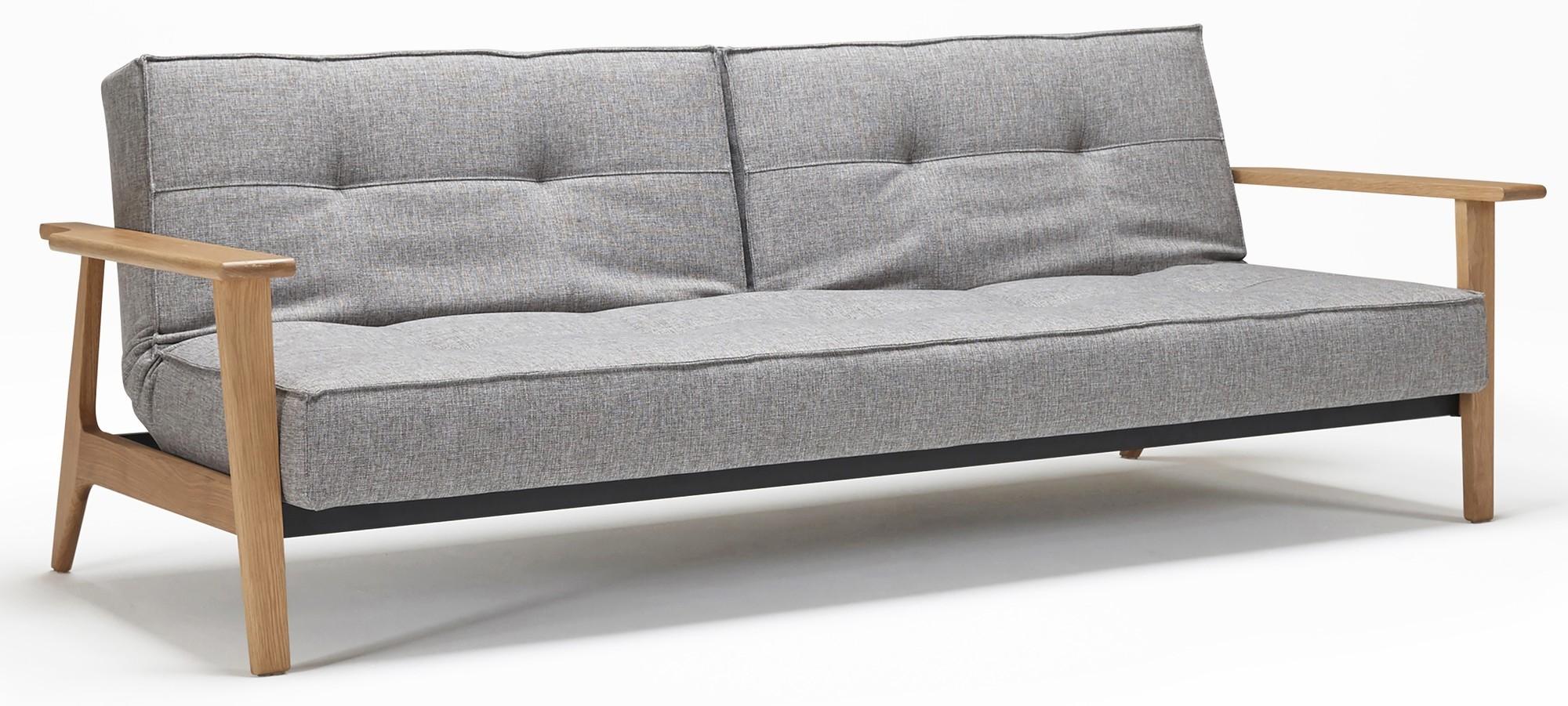 innovation slaapbank splitback frej mixed dance 521 grijs aanbieding designonline24. Black Bedroom Furniture Sets. Home Design Ideas