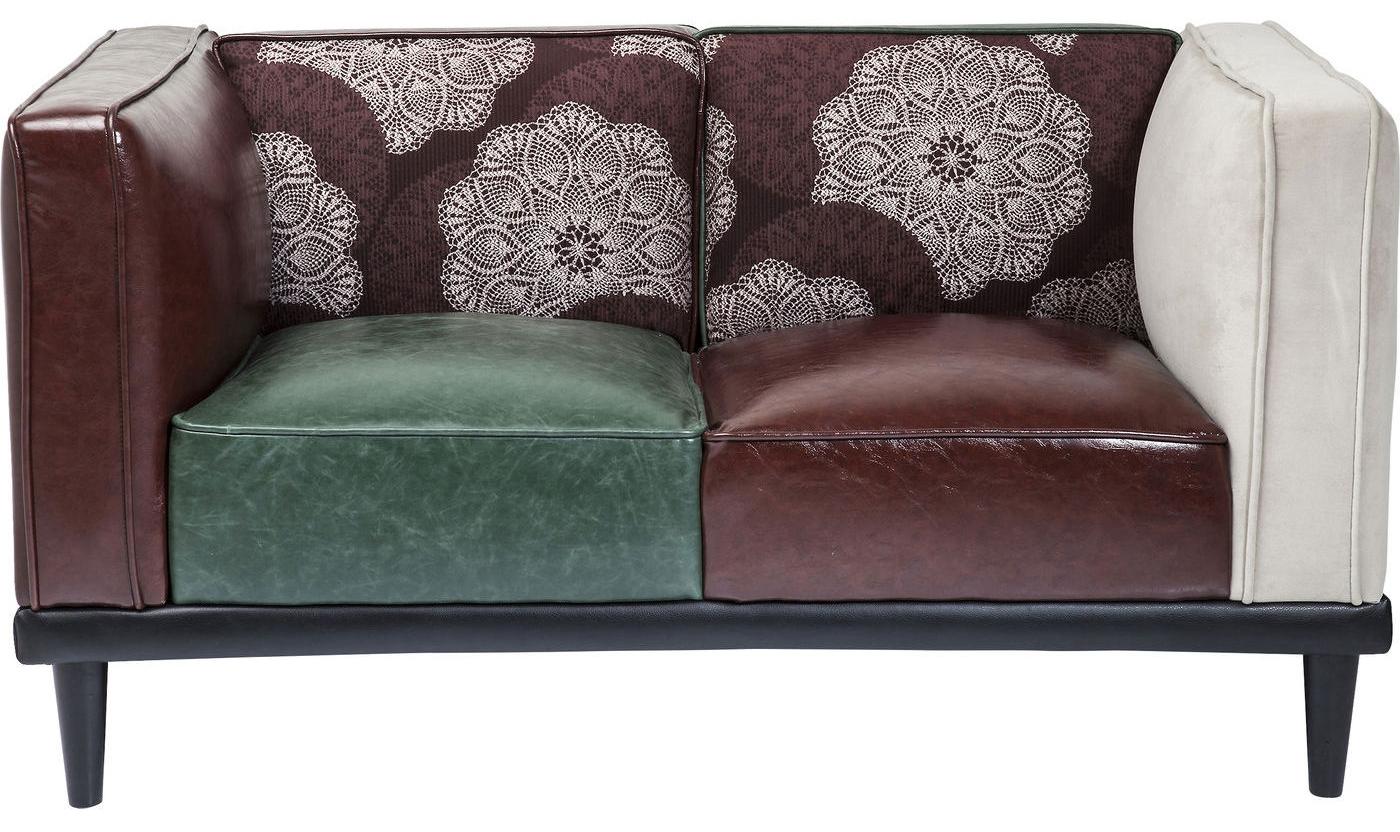 kare design bank sofa gamble 3 zits fluweel stof blauw aanbieding kopen. Black Bedroom Furniture Sets. Home Design Ideas
