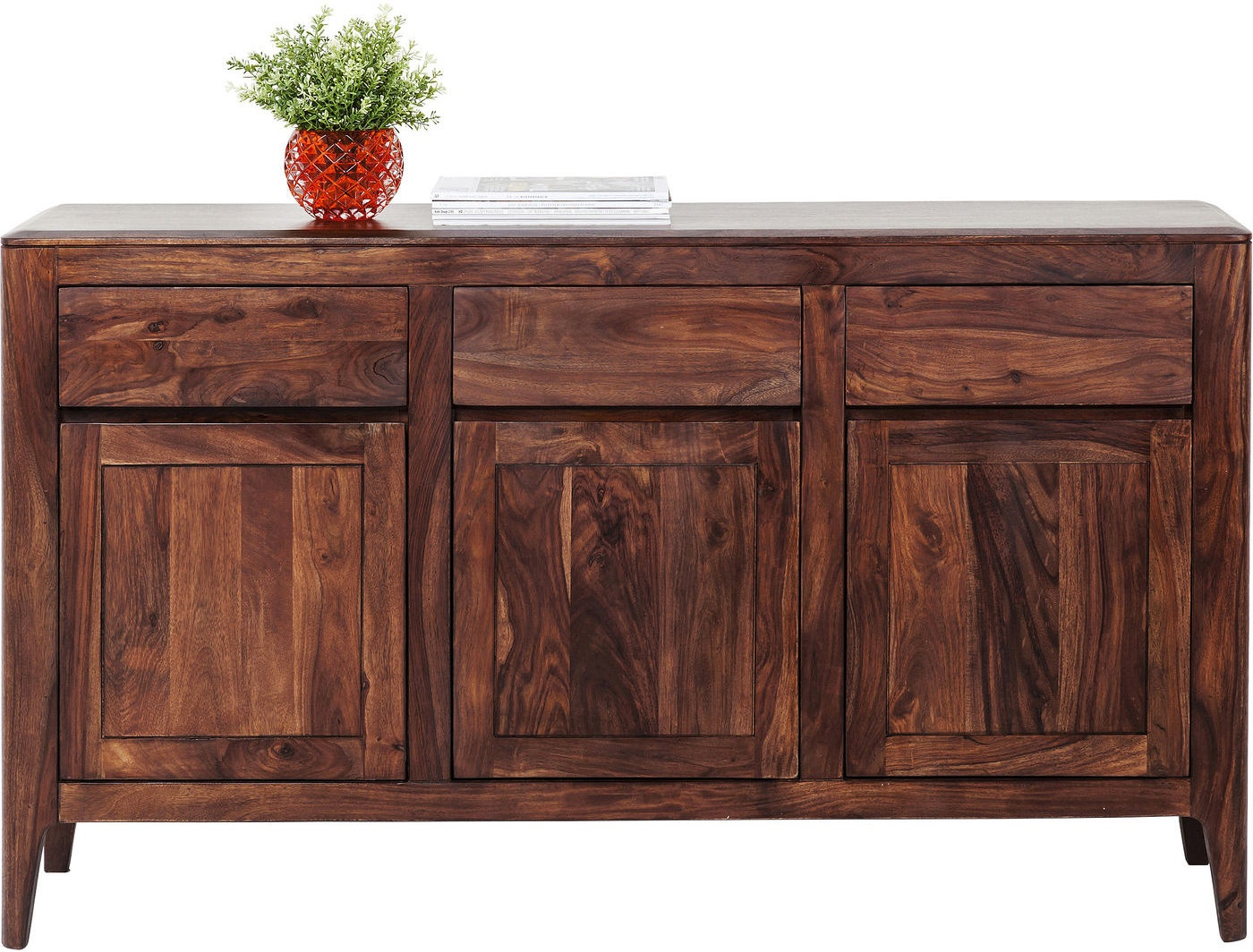 Zuiver dressoir high on wood l120 x b40 x h71 5 cm 2dr 1do for Dressoir design