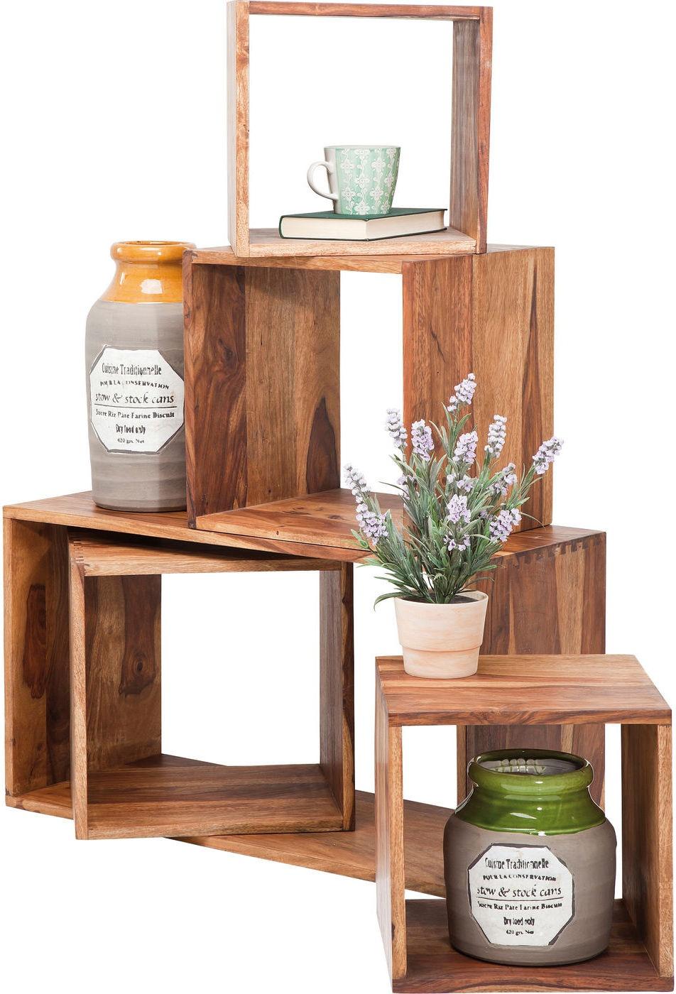 kare design bijzettafel authentico cube duo l40 x b30 x. Black Bedroom Furniture Sets. Home Design Ideas