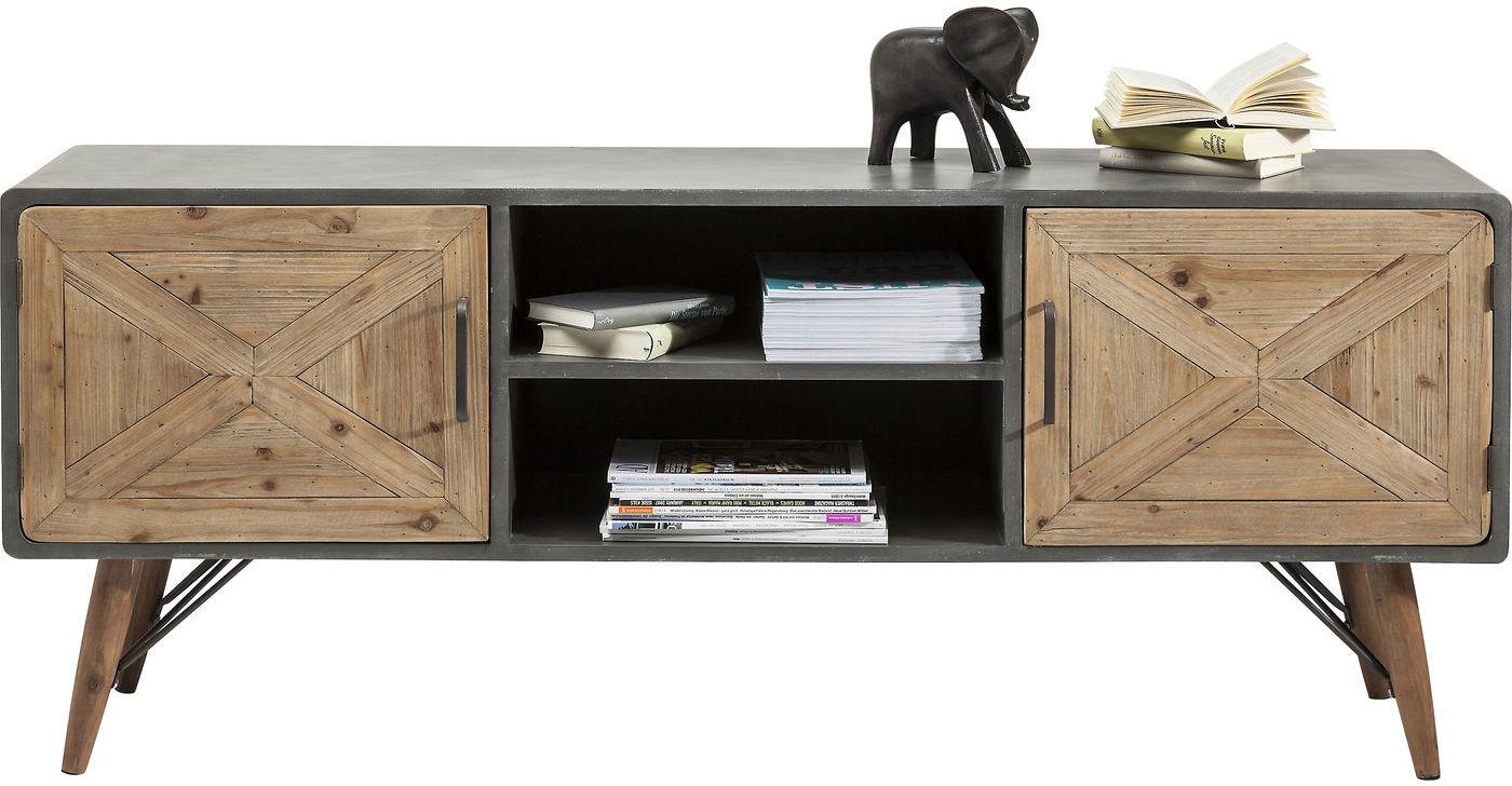 Tv meubel stoer kopen online internetwinkel for Tv meubel design outlet