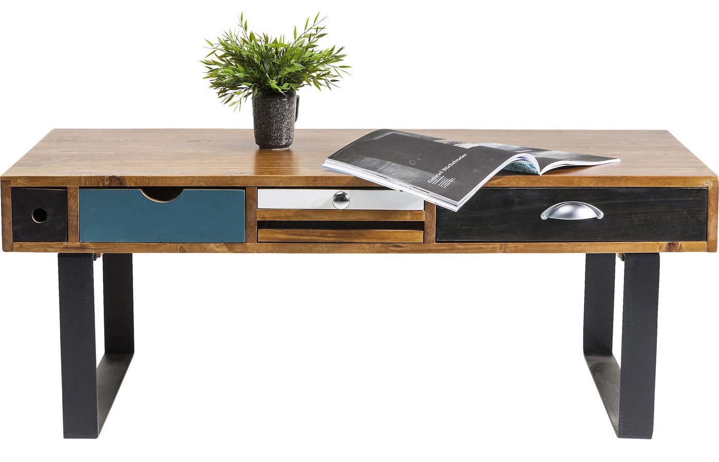 Kare Design Salontafel Babalou L120 X B60 X H45 Cm Populierenhout kopen