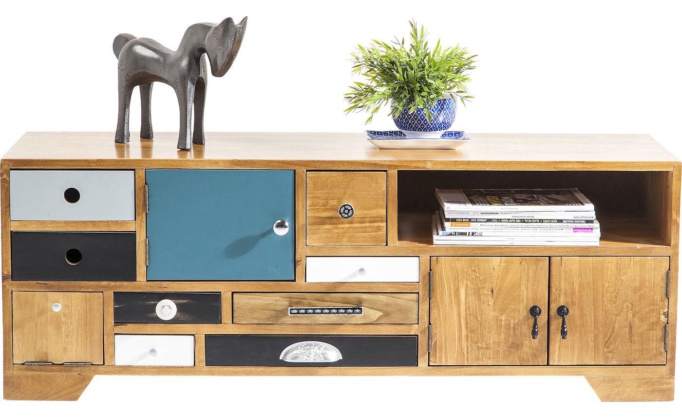 Kare Design Tv Meubel Babalou L125 X B40 X H45 Cm Populierenhout kopen