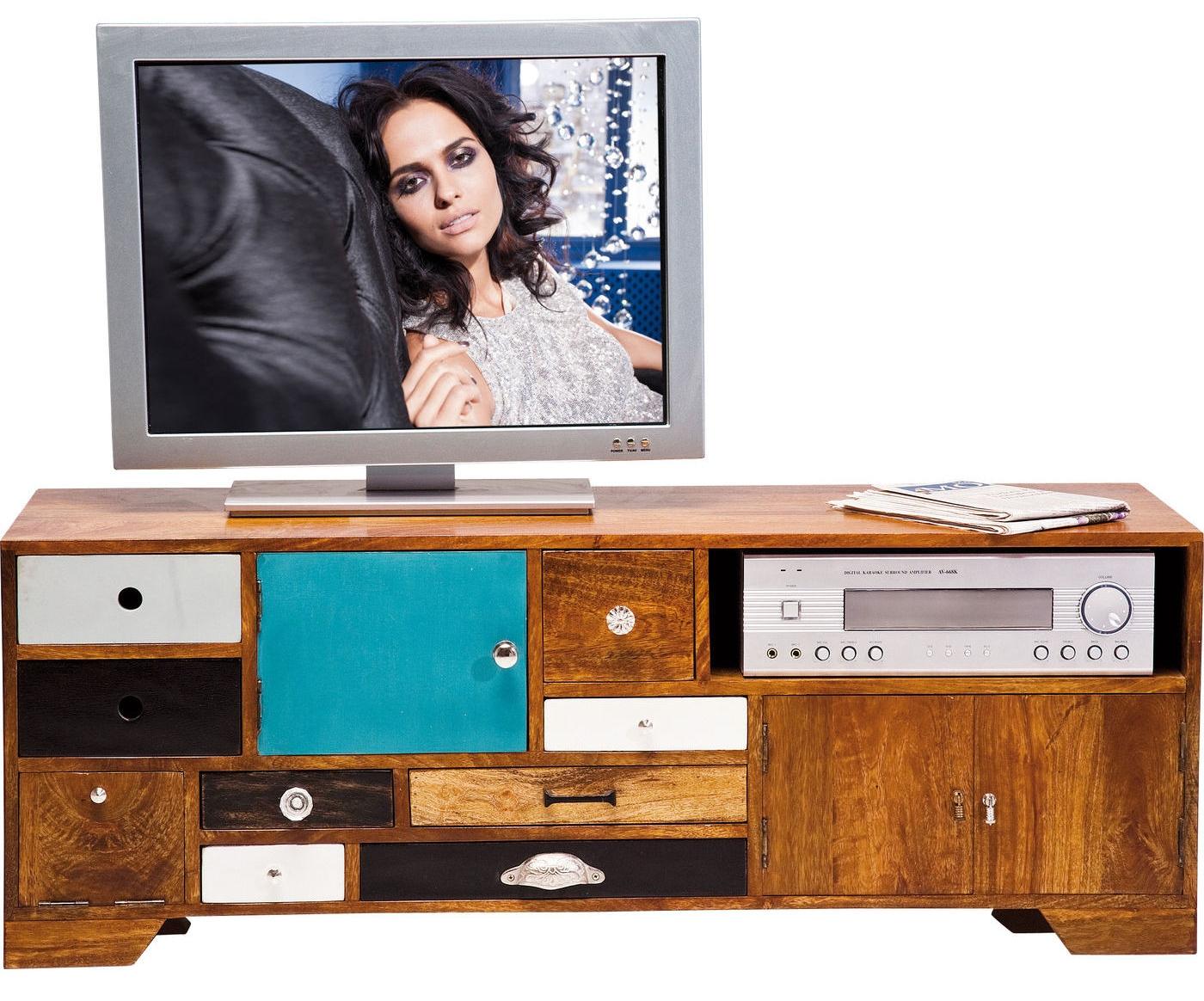 Kare Design Tv Meubel Babalou L125 X B40 X H45 Cm Mangohout kopen