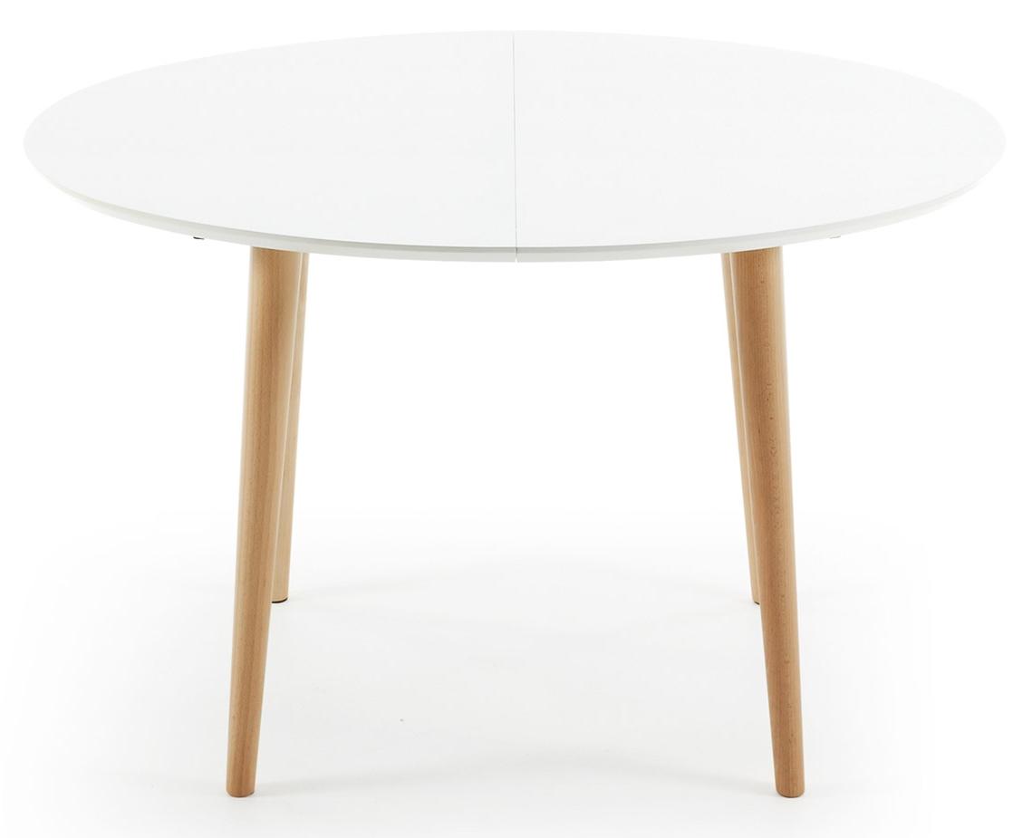 ... oqui 120 200 cm mat wit moderne mat witte uitschuifbare eettafel met