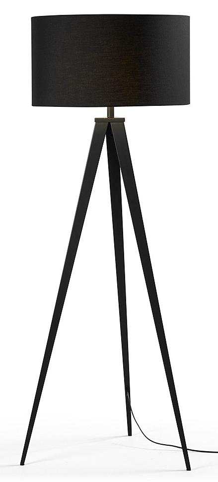 LaForma Vloerlamp Uzagi - Zwart