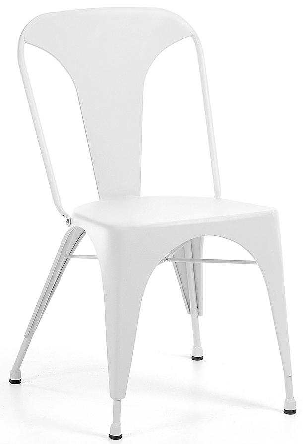 laforma set 4 stoelen malibu wit 9 % set van 4 stoelen trendy en ...