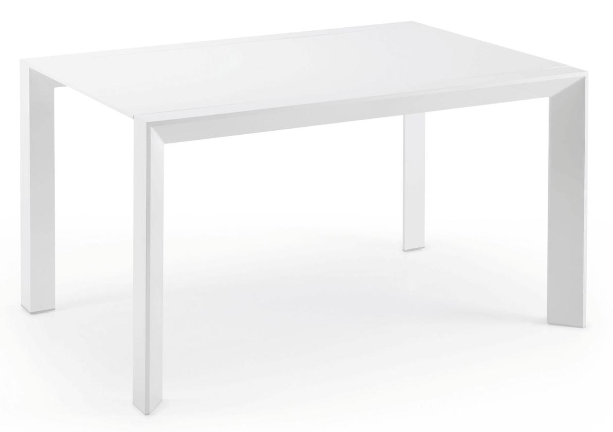 LaForma Tafel Arya Zwart Glas - Chroom - 200 x 100 cm tafels laforma ...