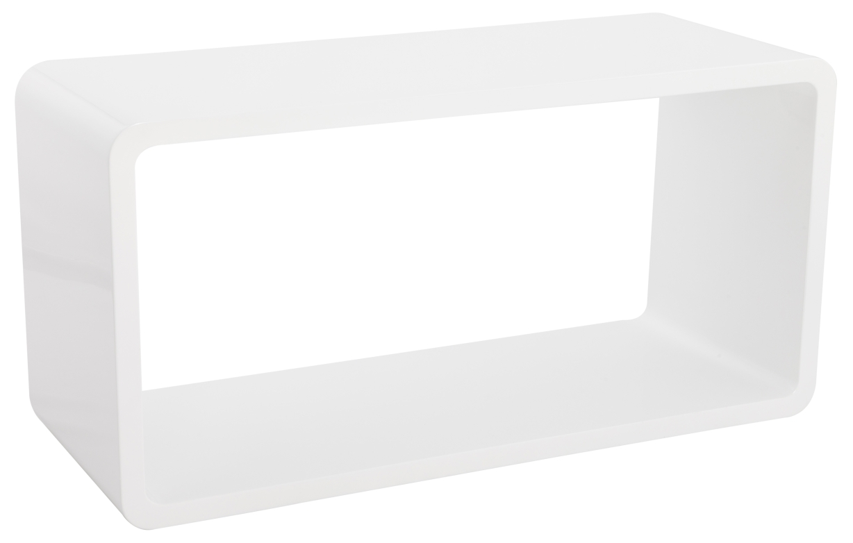 24designs nachtkastje freja l45 x b35 x h59 cm hoogglans grijs in de aanbieding kopen - Cube nachtkastje ...