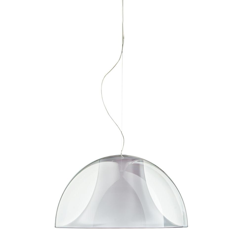 Pedrali Hanglamp L002S/BA - Ø52 cm - Wit/Transparant