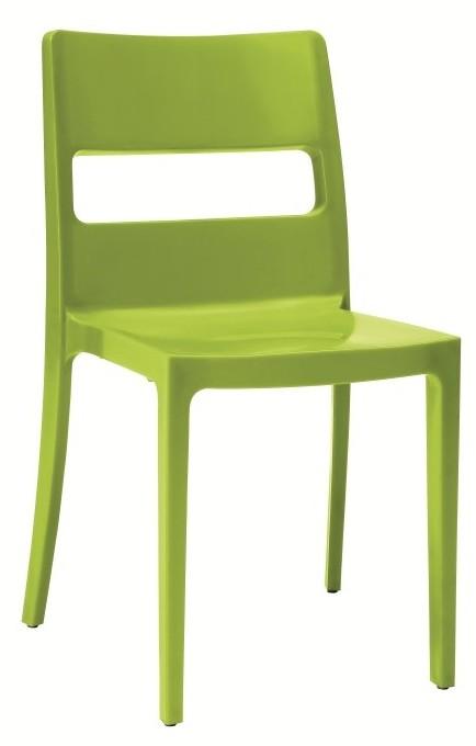 Sai stoel scab groen in de aanbieding kopen for Design stoel 24