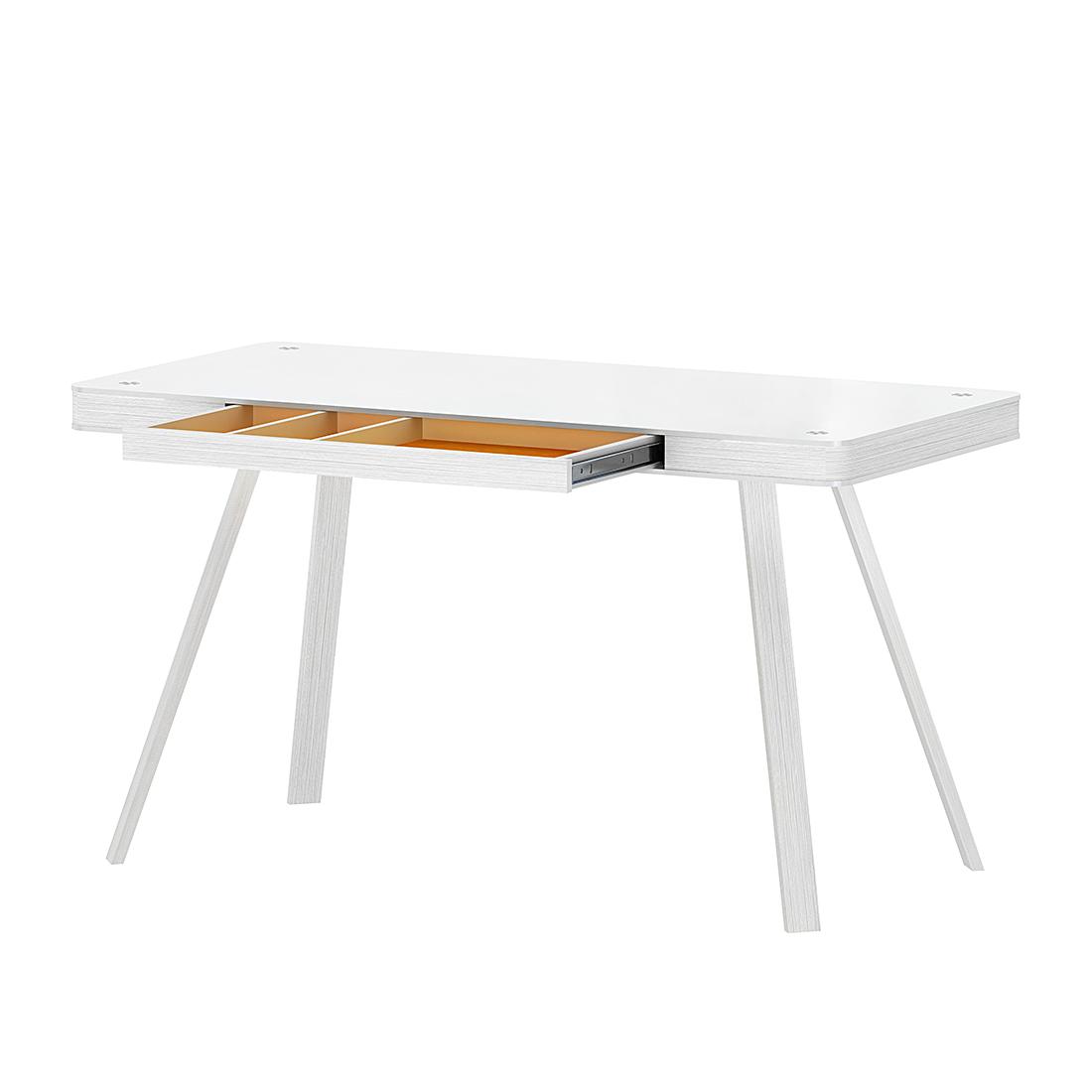bureau grace wit 120 cm aanbieding kopen. Black Bedroom Furniture Sets. Home Design Ideas