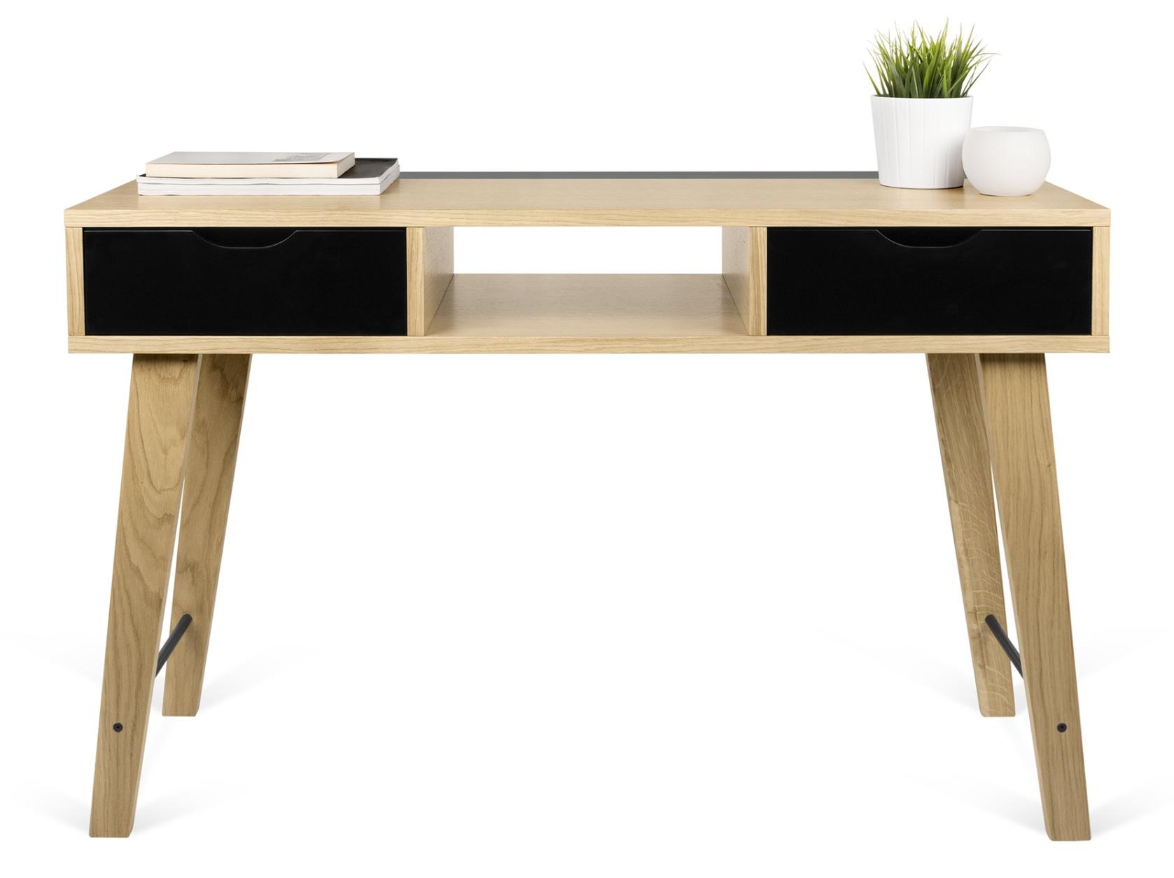 Vtwonen sidetable bureau zwart met 4 lades zwart vtwonen meubelen in de aanbieding kopen - Houtkleur zwart ...