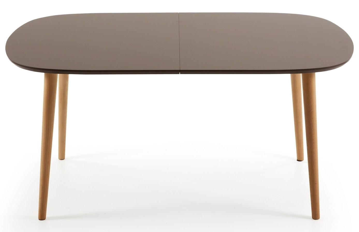 Uitschuifbare Eettafel 160 Cm.Uitschuifbare Eettafel Cm Msnoel Com