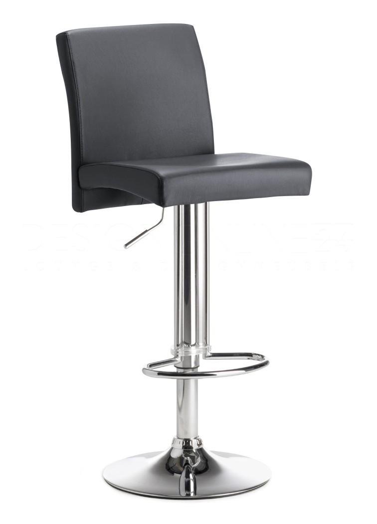 Barkruk wit leer kopen online internetwinkel for Eettafel stoelen wit leer