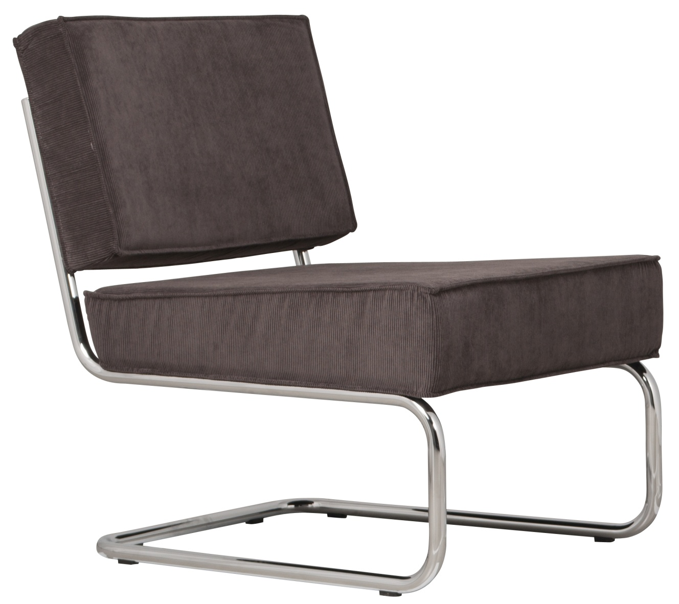 Zuiver lounge chair ridge rib fauteuil zuiver in de aanbieding kopen - Lounge design grijs ...
