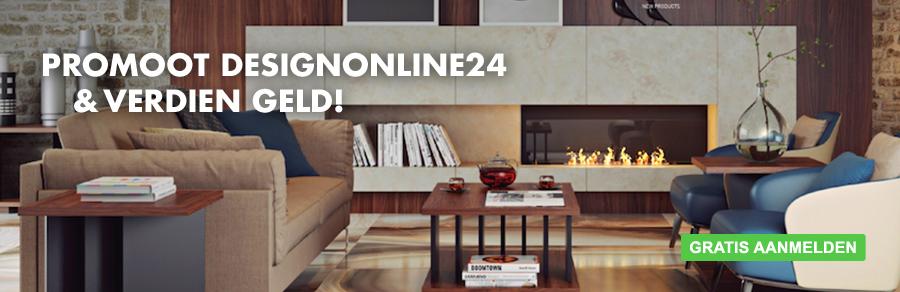 Meld je aan voor het affiliate-partner programma van DesignOnline24