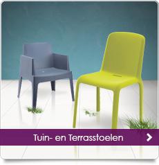 Trendy design stoelen en lounge fauteuils designonline24 for Stapelbare tuinstoelen
