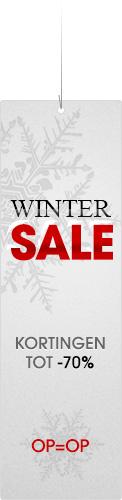 WinterSALE Korting tot 70%