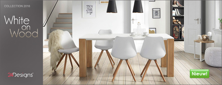 Nieuw van 24Designs: White-On-Wood
