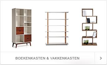 Boekenkasten koop je natuurlijk bij DesignOnline24
